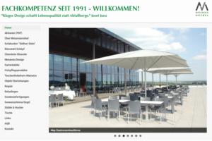 Webseite für ECO AG Metanoia Möbel