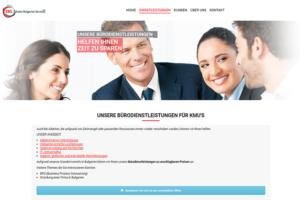 Webseite für Swiss-Bulgarien Services AG