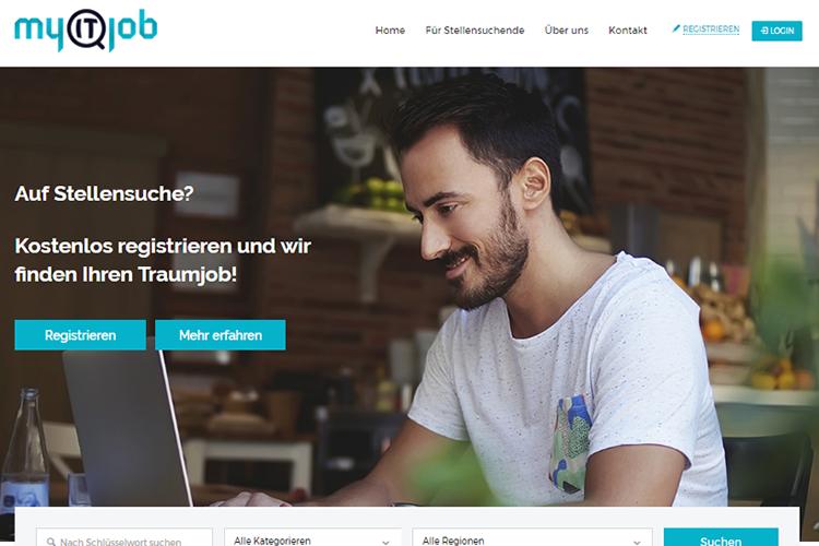 Webseite für myitjob.ch